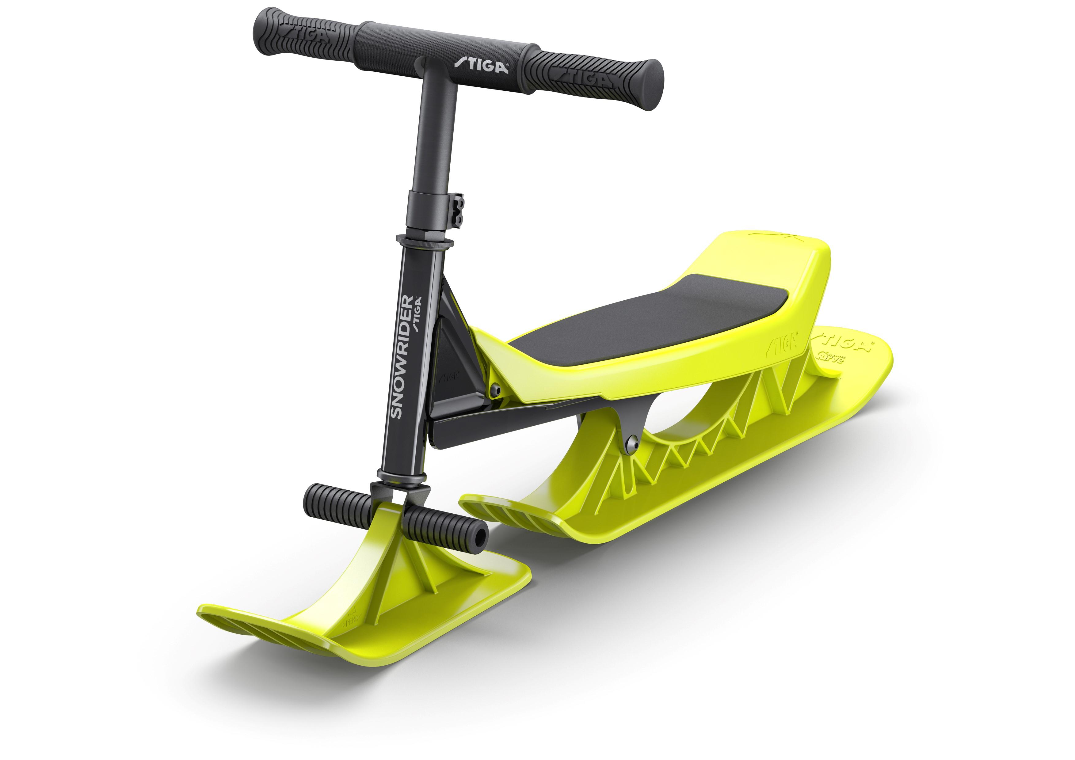 Kända STIGA® Snowrider Black/Lime - Having Fun Yet UD-84