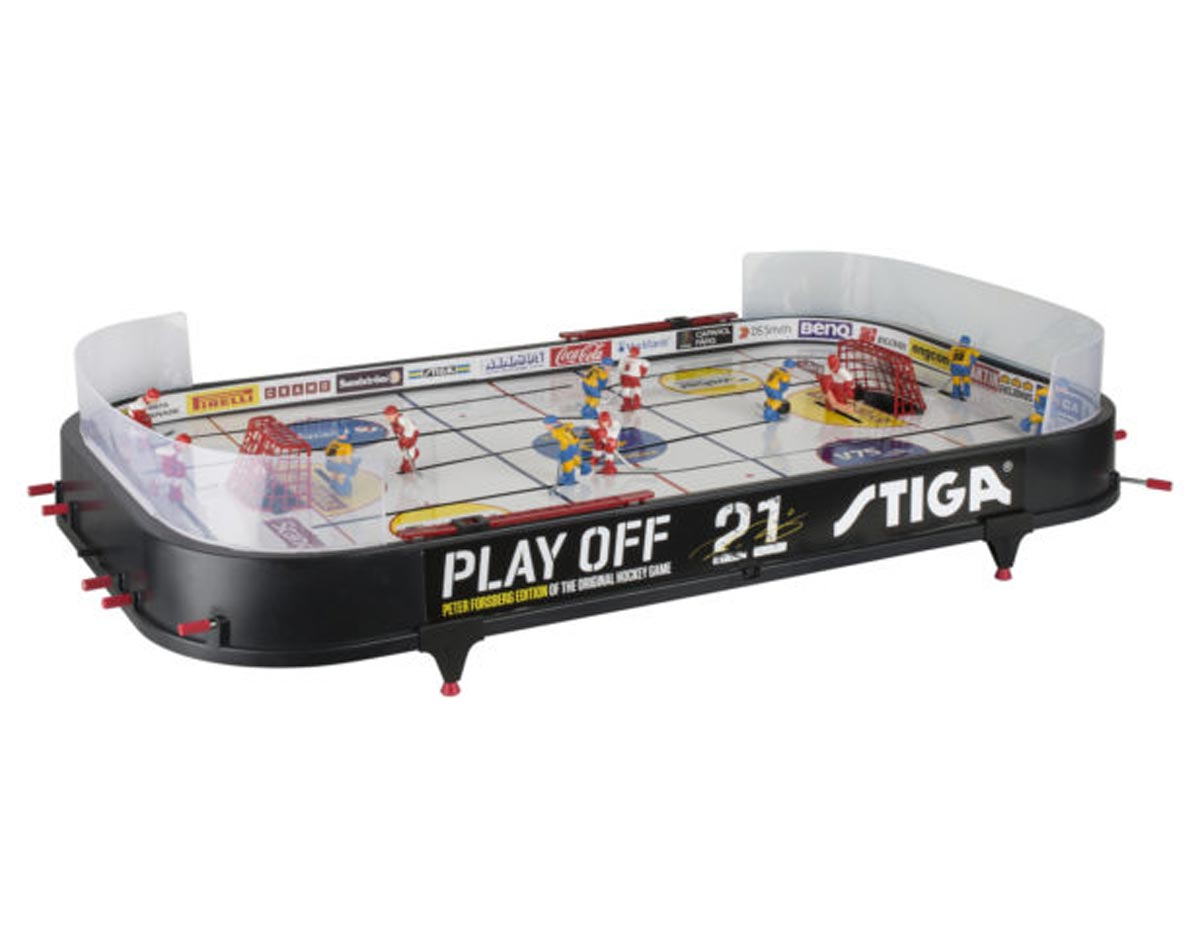STIGA® Playoff 21 Hockey Table Game (Canada vs  Sweden)